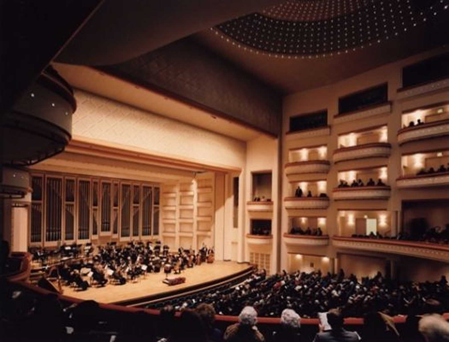 North Carolina Performing Arts Center Design Blumenthal Pac